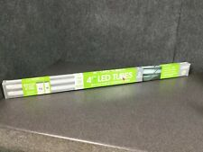 Feit Electric 4-Ft LED Tubes 1750 Lumens 4100K Cool White 14 Watts, 2 Pack M30D