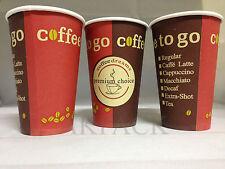 """1000x Kaffeebecher """"Coffee to go"""" Becher 0,2 200ml - Hartpapier SUPER QUALITÄT"""