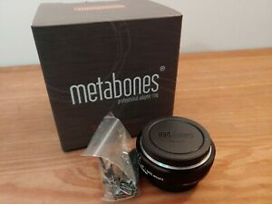 Metabones Speed Booster Adapter for Nikon Lens to Micro Four Camera