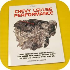 CHEVY LS1 LS6 Engine Performance Manual Camaro Corvette Intake Cylinder Head V8
