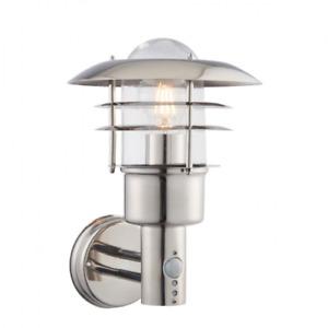 ENDON LIGHTING DEXTER 1LT WALL PIR IP44 40W