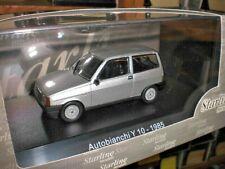 Starline Models 509145 - Autobianchi Y10 1985 grigio met - 1:43 Made in China