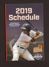 St Lucie Mets--2019 Pocket Schedule--Budweiser