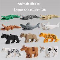 Colorful Animal Educational Toys for Children Building Blocks Figure toys models