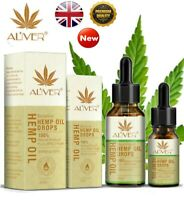 10/30ML Premium 30% Strong Strength Hemp Extract Oil 3000mg Organic Herbal Drops