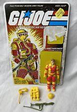 New listing Vintage 1984 G.I. Joe Blowtorch Figure Complete w/ Accessories & Cardback