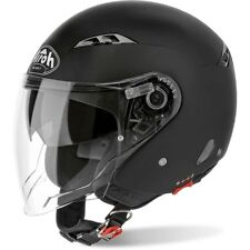 Casco Jet Airoh City One Color Nero opaco L