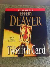 The Twelfth Card: A Lincoln Rhyme Novel  - Audiobook unabridged Jeffery Deaver