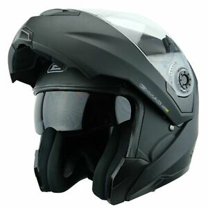 Flip Up Front Motorcycle Helmet > G-Mac Axis Evo Modular Sun Visor Motorbike