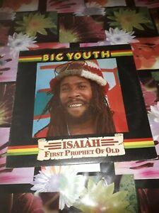 ORIGiNAL UK LP DUB REGGAE LP BIG YOUTH ISALAH VG+ 1978 VIRGIN