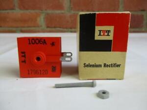 ITT Selenium Rectifier 200MA 130 Volts NOS NIB