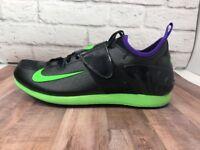Nike Zoom POLE VAULT II (2) Field Event BLACK 317404 035 MEN 12 + Bonus Spikes