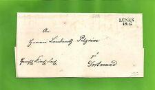 Pr Vor / LÜNEN 18/12 L2 auf Kabinett-Kirch-Brief n. Dortmund