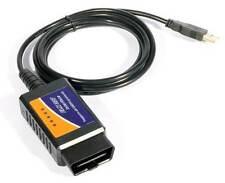 INTERFACE ELM 327 USB OBD OBD2 ODB2 DIAGNOSTIQUE VOITURE SCANNER + LOGICIELS