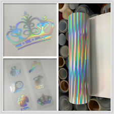 Holographic Craft Vinyl Cutting Vinyl For CAR Cup Wall Stickers Adhesive sticker