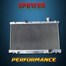 2 Row Aluminum Radiator For Honda Civic Si SiR MT L4 2.0L K20A3 2002-2005