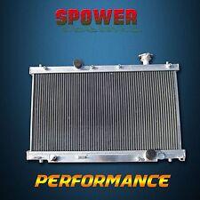 Aluminum Radiator For Honda Civic Si SiR MT L4 2.0L K20A3 02-05 2 Row Core