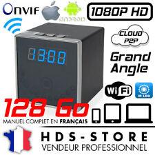 RVLIP2 ALARM CLOCK CAMERA CUBE SPY IP WIFI FULL HD 1080P + 128 GB NIGHT VISION