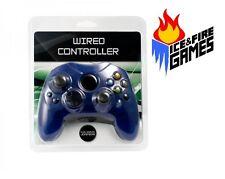 New Controller for the Original Microsoft Xbox - BLUE