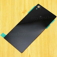 New Glass Panel Back Door Battery Cover Case For Sony Xperia Z1 C6902 C6903 L39h