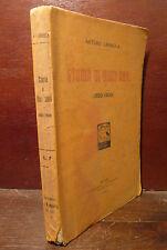 Saggio Storia, A. Labriola: Storia di Dieci Anni 1910 Viandante Milano prima ed.