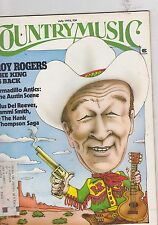 JULY 1975 COUNTRY MUSIC magazine ROY ROGERS