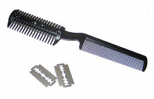 Pet Dog Cat Hair Trimmer With Comb and Extra Razors Ships Free First Class