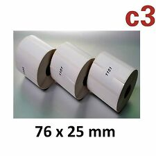 76x25 mm Thermo-etichette epson tm-l90 ZEBRA Samsung