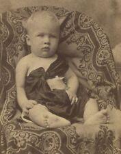 POST CIVIL WAR CDV PHOTO VICKSBURG MS G.L. MONROE JR JAMES MONROE DESCENDANT
