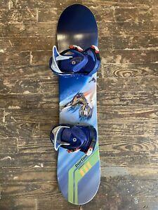 Burton Chopper Kids Youth Snowboard 111cm with Burton Freestyle Jr Bindings