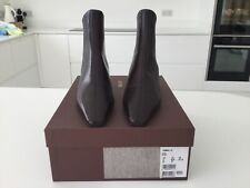 BALLY 'TAMRIN' BROWN LEATHER BOOTS BNIB SIze 4.5 (37.5)