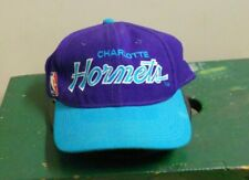 CHARLOTTE HORNETS Sports Specialties SCRIPT FITTED Hat 7 1/4 Basketball