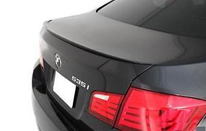 BMW F10 5-Series 2010 - upward 4 door car Boot Lip Spoiler wing M Spoiler lip