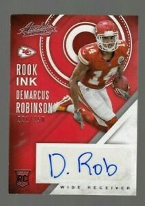 Demarcus Robinson 2016 Panini Absolute Rook Ink ROOKIE Autograph Signed #221/250