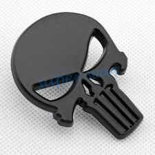 Matt Black Punisher Skull Metal Emblem Decal Car Truck Sticker Accessories Parts