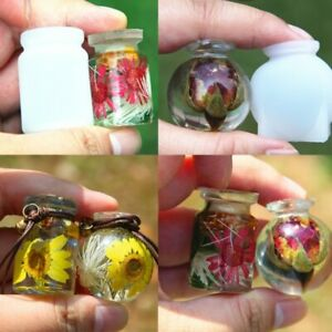2 moule resine bouteille  pendentif bijoux  eposy uv