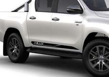 pair of side stripes TRD HILUX Stickers Decals for truck hilux 2016