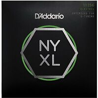 D'Addario Nickel Wound Electric Guitar Strings, Medium Top / Extra-Heavy Bottom