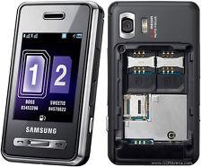 Samsung sgh d980 double sim (sans simlock) 5mp touch mp3 player NEUF top OVP