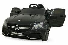 Lizenz Mercedes C63 AMG Elektro Kinder Auto 2x25W 12V 7Ah RC LED