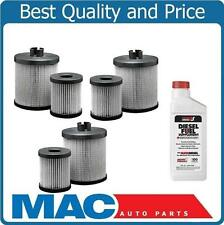 03-07 F250 Super-Duty 6.0L Diesel Water Separator Fuel Filter 3Pk With Aditive