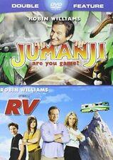 {New Sealed} Jumanji & Rv Double Feature 2014 Widescreen Dvd