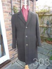 Vintage Brown / Green Wool Overcoat, Tailored by Alkit