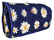 Daisy Womens Large Hanging Toiletry Organizer Bag Travel Makeup Cosmetic