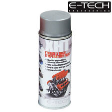 SILVER E-Tech 400ML Extremely High Temperature Paint XHT VHT Exhaust