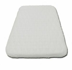 Replacement Baby Crib Mattress To Fit TUTTI Bambini CoZee Bedside Quilted