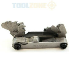 TOOLZONE Tools Screw Bolt Thread Pitch Gauge, Metric, Whitworth, AF NEW TP121