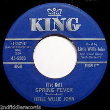 LITTLE WILLIE JOHN-Spring Fever+Flamingo-Blues & Soul 45-KING #5503