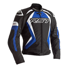 RST TRACTECH EVO 4 Blue Textile Sports Motorbike CE Approved Jacket
