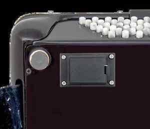 Musictech Recessed 9v battery holder  Accordion internal microphone kits MT04etc